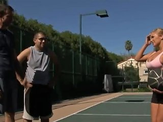 While Play Basketball When You Can Play With Shyla Stylez's Big Tits