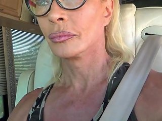 Sexyslut Driving In Chastity Device Txxx Com