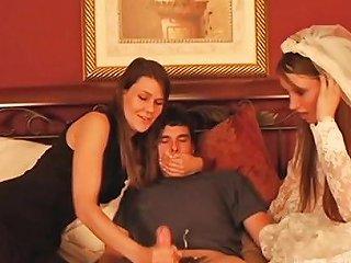 Feminized Mom Teaching Daughter For Ruining Husband Life