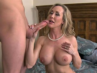 Brandi Love Gets A Messy Facial After Being Drilled By A Big Cock