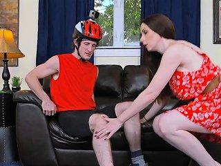 Biker Bangs Big Tits Milf At Her Home Drtuber