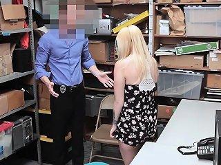 Carmen Taken To Backroom For Merciless Fucking