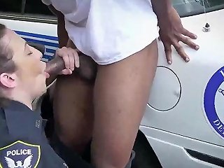 Hawaiian MILF I Will Catch Any Perp With A Huge Black Dick And Suck It