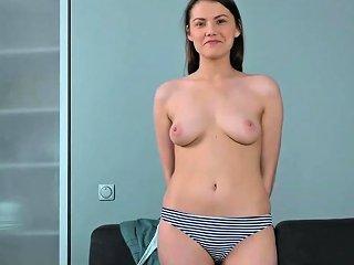 Shy Virgin Posing Naked And Showing Hymen Drtuber