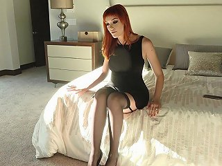 Stunning Redhead Slut