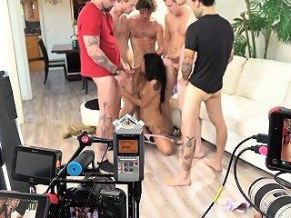 Interviewed Pornstar Latina Behind The Scenes Drtuber