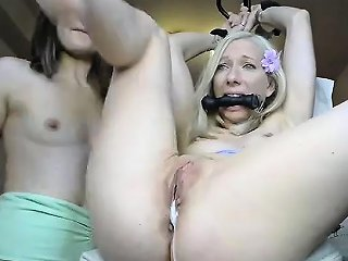 Bdsm Tattooed Guy In Gimp Mask Lick Ass To His Mistress Drtuber