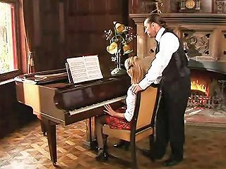 Piano Lesson Anal Session Free Ass Fucked Porn Video E0