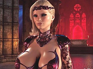 Blonde Big Tits Vampire Fucked Hard