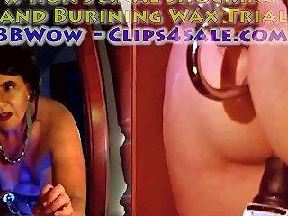 Xnun's Anal Shocking And Burining Wax Trial Free Porn 29