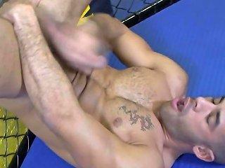 Pornstar Eats His Own Cum
