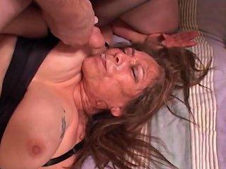 Anal Big Butt Mexican BBW Granny