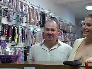Fiby Gets Screwed By The Boss Of A Sex Shop Free Porn Fc