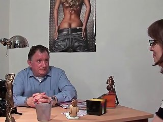 Amateur Casting Couch Of A Sweet Busty Brunette Hard