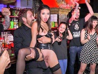 Underground Goth Club Turns Into A Wild Fuck Party Publicdisgrace Txxx Com