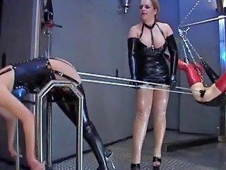 Mistress Using Her Kinkiest Toys On Two Rebellious Drtuber