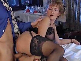 German Milf Takes It In A Restaurant Porn D1 Xhamster