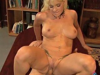 This Blonde Librarian Is A Shameless Exhibitionist That Loves Public Sex