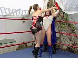 Goldie Blair Supheroine Wrestling
