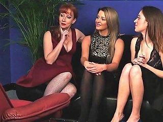 Cfnm Redhead Mature And Uk Babes Sharing Dick