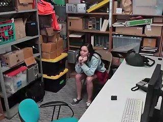 Karlee Greys Fine Ass Bends Over The Desk