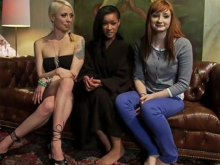 Kinky Lesbian Art Teacher Punishes And Ass Fucks Two Of Her Students Txxx Com
