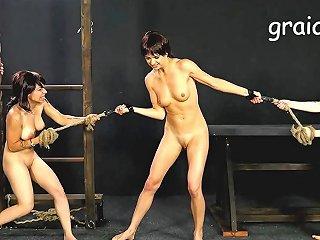 Giantess Fight Two Girls