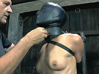 Demeaning A Chained Beauty BDSM Clip 1