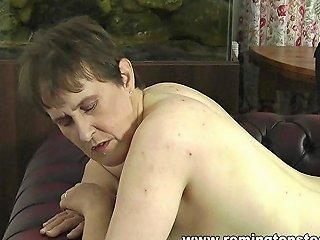 Big Tits Mature Paddled Naked