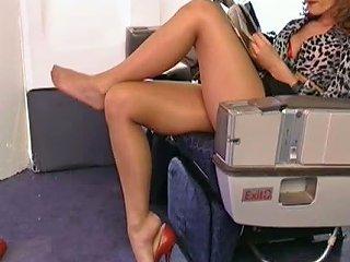 Airplane Leg Sex Free Viv Thomas Porn Video E7 Xhamster