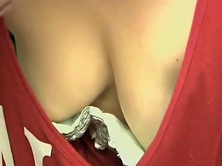 Downblouse Showing The Hottest Cleavage Nipples 6 Porn E9