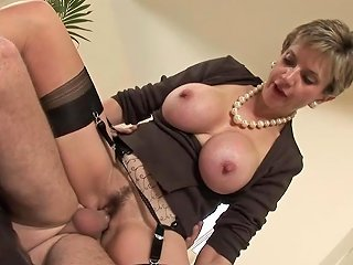 Lady Sonia Fucks 2 Guys Gets Covered In Cum Free Porn 44