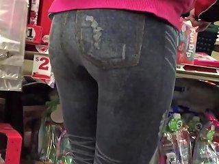Spandex College Girl Ass Jiggling Candid Txxx Com