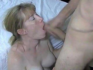 Big Tits Wife Enjoys A Facial Cumshot Film Feature 1