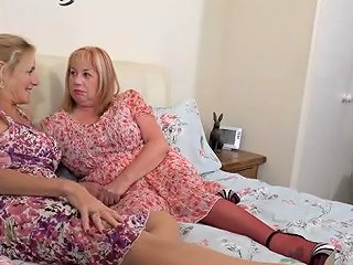Natural Tits Mature Threesome With Cum On Tits Upornia Com