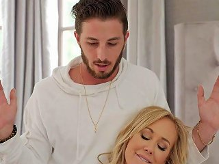 Brandi Love Stepmoms Cum Load Filled Massage