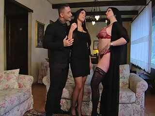 Double Anal Fuck Amandha And Cecilia Want It In The Ass
