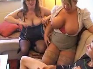 One Lucky Punk With 2 Sexy Milf Free Porn 61 Xhamster