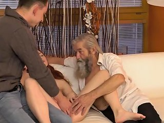 Old Man Beard Unexpected Experience With An Older Gentleman Nuvid