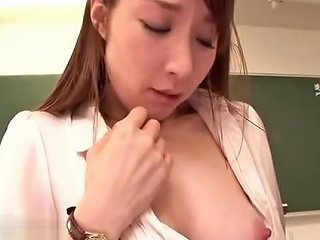 Japanese Shy Teacher Fucked By Her Student