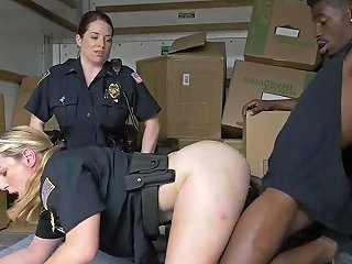 Big Arse MILF And Younger Girl Threesome XXX Black Suspect Taken On A Harsh Ride