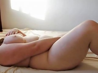 Chubby Brunette Belly Play And Masturbating To Cum Porn E1