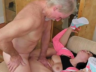 Old Fuck XXX She S Pretty And Can Ravage The Hell Out Of An Old Man