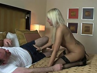 Hot German Escort Fuck Old Man In Hotel For Money Drtuber