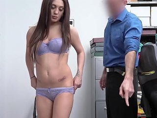 Scared Teen Shoplifter Lets A Cop To Fuck Her To Avoid Jail Porn Videos