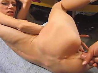 Cinderella's Skinny Teen Asshole Filled In Garage Porn Cc