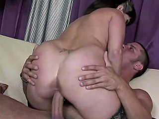 Hair Pulling And Facials Make Carrie Ann Quite Horny