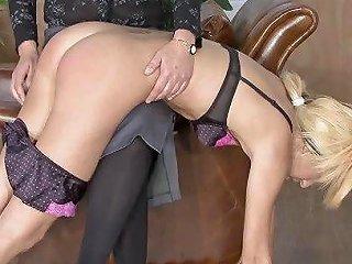 Spanked Blond Blonde Spanking Porn Video 63 Xhamster