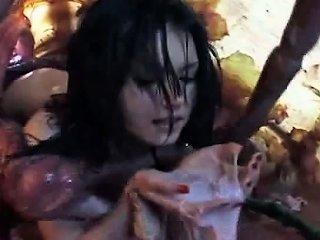 Hot Asian Girl Tasting Tentacle Sperm After Cumshot Drtuber