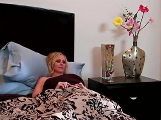 Julia Ann Is Laying In Her Bed And James Deen Is Seducing Her For Some Hot Fuck Before Sleep He Licks Her Pussy Sucks Tiny Nipples And Fucks Her Hard